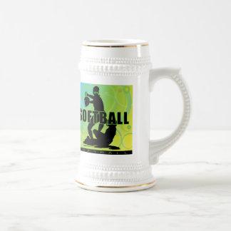 softball60 beer stein