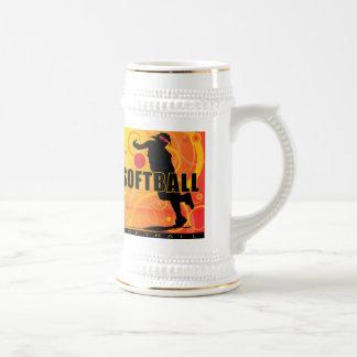 softball76 beer stein