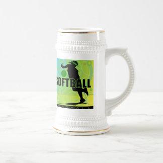 softball78 beer stein
