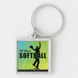 softball87 key chains