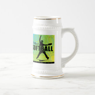 softball88 beer stein
