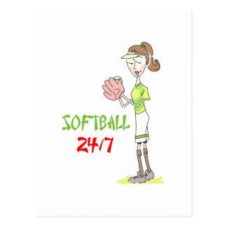 Softball 2417 postcard