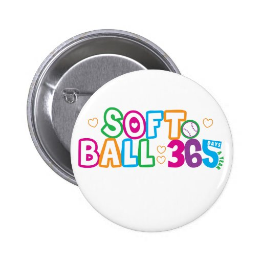 Softball 365 pin