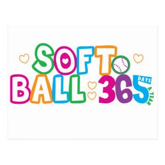 Softball 365 postales