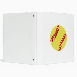 Softball 3 Ring Binder