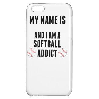 Softball Addict Case For iPhone 5C