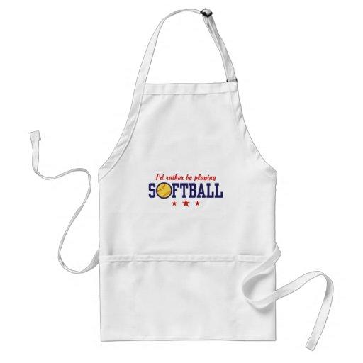 Softball Adult Apron
