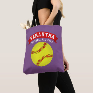 Softball All-Star Tote Bag