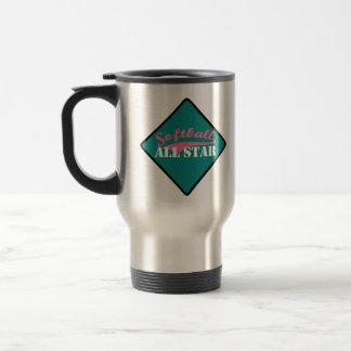Softball All Star Travel Mug
