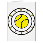 softball All Time Greeting Card