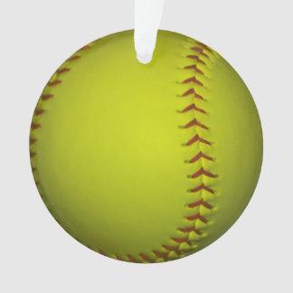 Softball amarillo de neón