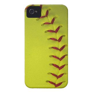 Softball amarillo de neón - béisbol funda para iPhone 4