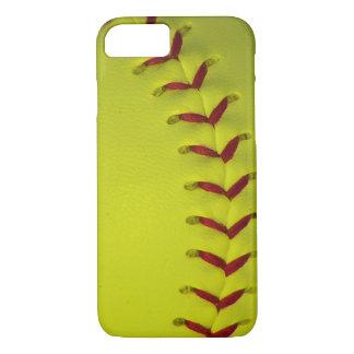 Softball amarillo de neón funda iPhone 7