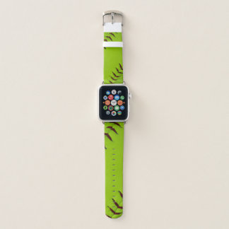 Softball apple watch wrist band
