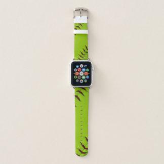 Softball apple watch wrist band