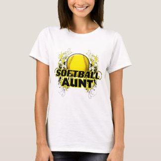 Softball Aunt (cross).png T-Shirt