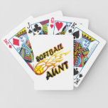 Softball Aunt (flame).png Bicycle Playing Cards