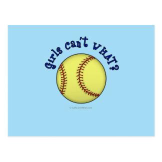 Softball-Azul Postales