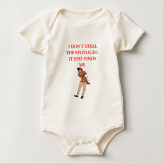 softball baby bodysuit