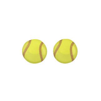 Softball Ball Earrings