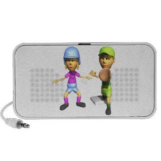 Softball Base Runner Speakers