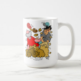 Softball Baseball Player sliding into Home Base Coffee Mug