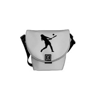 Softball batter courier bag