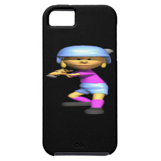 Softball Batter iPhone SE/5/5s Case