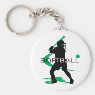 Softball - Batter Keychain