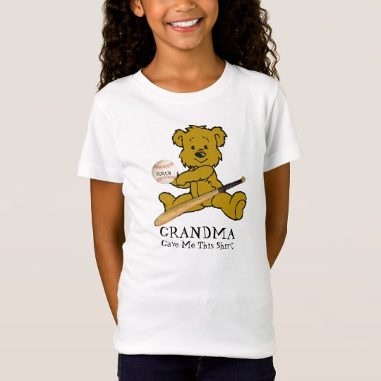 SOFTBALL BEAR-T-SHIRT T-Shirt