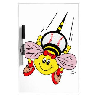Softball Bee Dry-Erase Board