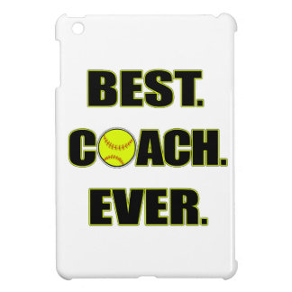 Softball Best Coach Ever iPad Mini Cases