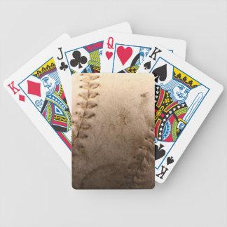 Softball Bicycle Playing Cards