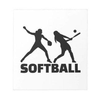 Softball Bloc De Notas