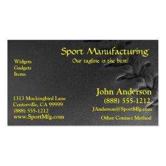 Softball Business Card