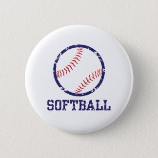 Softball Button