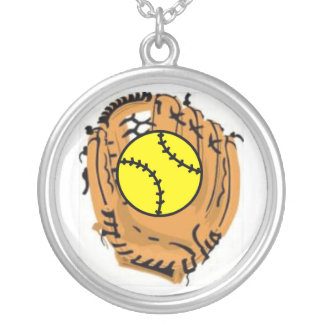 Softball Catcher Necklaces