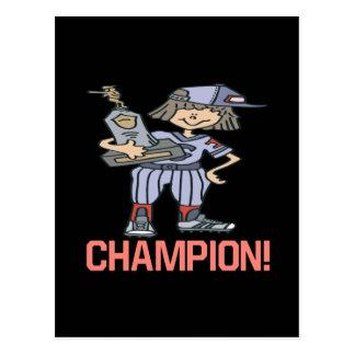 Softball Champion Postcards