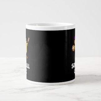 Softball Chick 20 Oz Large Ceramic Coffee Mug