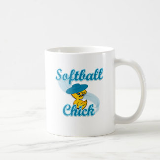 Softball  Chick #3 Classic White Coffee Mug