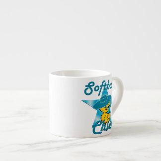 Softball Chick #7 6 Oz Ceramic Espresso Cup