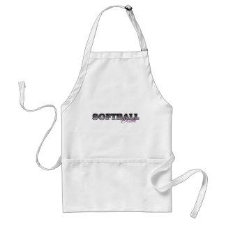 Softball Chick Adult Apron
