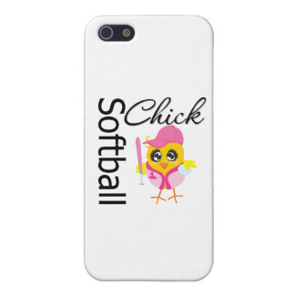 Softball Chick Case For iPhone SE/5/5s