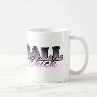 Softball Chick Classic White Coffee Mug