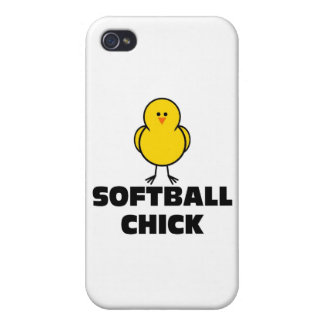 Softball Chick iPhone 4/4S Cover