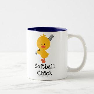 Softball Chick Mug