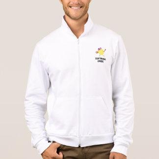 Softball Chick Printed Jacket