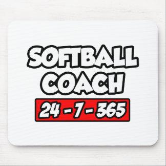 Softball Coach 24-7-365 Mouse Pad