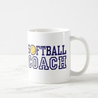 Softball Coach Classic White Coffee Mug