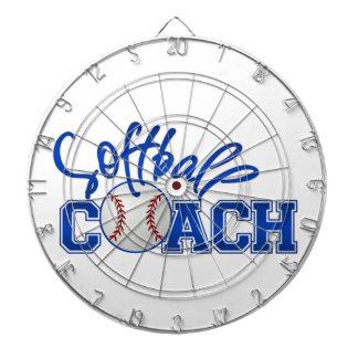 Softball Coach Dartboard